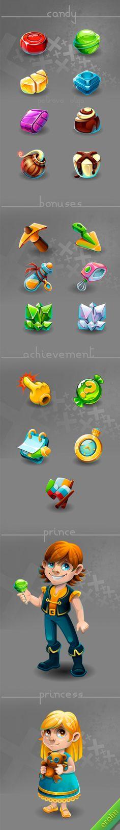 Game icon(776图)_@明年-an收集_花瓣UI/UX