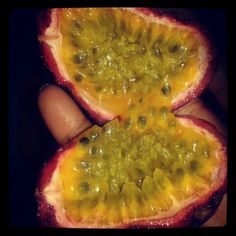 Got me some passion fruit!