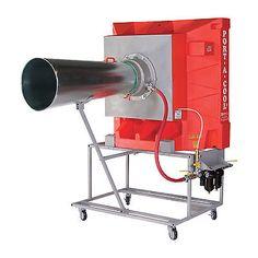 Port-A-Cool Pneumatic Drive Evaporative Cooling Unit-24in 4898 CFM PAC2K24AD