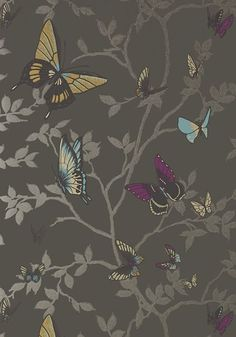 Wallpaper Love: Anna French's Seraphina Collection   The English Room