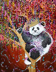 "Stephen Lursen Art: PARTY ANIMAL!!! A.K.A. ""Part Panda!"" SOLD"