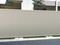 正規 リクシルプレスタ7y型 横スリット形材 フェンス 柵を値引45 工事販売 愛知三重岐阜 フェンス 工事 プレスタ