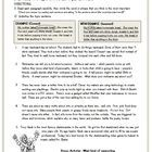 This worksheet was designed as part of an introductory lesson for topic and main idea.  Students analyze five short passages to determine the topic...