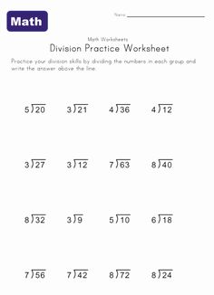 th grade math worksheets and long division problems  math is fun  simple division worksheet  multiplication and division worksheets th  grade math worksheets homeschool worksheets