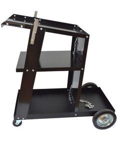 Hegesztőgép és tartozékainak tárolására és hordozására alkalmas hegesztőkocsi.  http://www.hegesztestechnikabolt.hu/hegesztes/hegesztokocsi/5534-hegesztokocsi-fekete