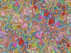 FLORENTINA PRINT paisley Art Print