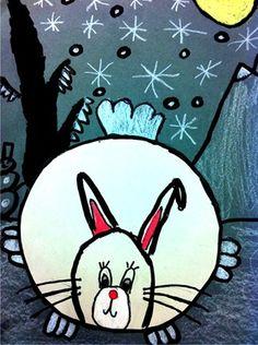 2nd Grade Winter Rabbits