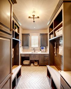 Boot Bench, Storage Solutions, Mud Room, Doggie Room, Herringbone tile Home, Herringbone Tile, Bathroom Renovation, Large Dining Room, New Homes For Sale, New Homes, Vaulted Ceiling Beams, Model Homes, Mudroom