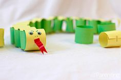 Chinese new Year Paper chain snake #craft - activities for #kids