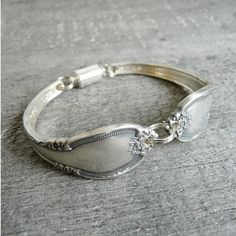 Silver Spoon Bracelet Silverware Jewelry by Revisions on Etsy