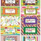 Here is a set of 2x4 labels I created to keep myself organized with all the Candy Land Games I created. I simply print them out on Avery 2x4 or com...
