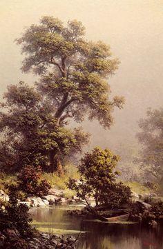 Windberg, Dalhart - Landscape with Boat