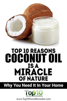 10 Health Benefits of #Coconut #Oil That You Need To Know