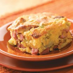 Business Cookware Ought To Be Sturdy And Sensible Corn Dog Casserole Recipe From Taste Of Home - Shared By Marcy Suzanne Olipane, Belleville, Illinois Hot Dog Casserole, Casserole Dishes, Casserole Recipes, Pork Casserole, I Love Food, Good Food, Yummy Food, Yummy Recipes, Breakfast