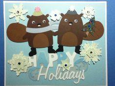 Cricut Christmas card for my parents.
