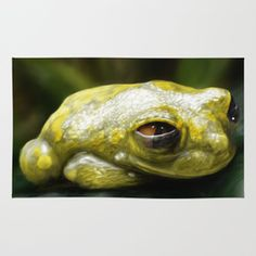 African Frog Rug