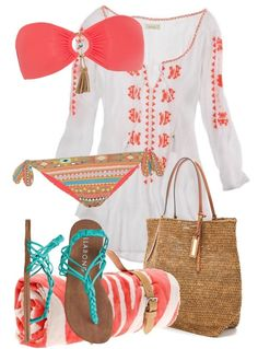 Getting beach ready is easy peasy. The focal point of your outfit is your swimsuit!