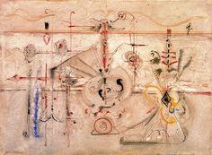 Mark Rothko: Idolo arcaico (1945) Stile: Surrealismo