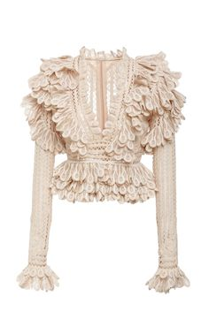Beige Long Sleeve Lace Blouse - Fashion inspo - women Resort style fashion Chic Contemporary Beige Long Sleeve Lace Blouse Dior Bella A very unique - Look Fashion, Spring Fashion, Fashion Design, Unique Fashion, Mode Outfits, Fashion Outfits, Womens Fashion, Stylish Outfits, Estilo Indie