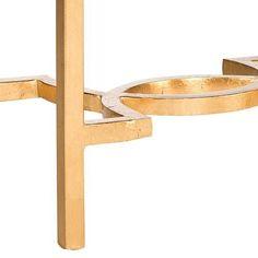 Safavieh Mita End Table - Metallic
