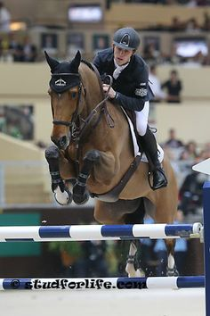 Scott Brash and Helle Sanctos