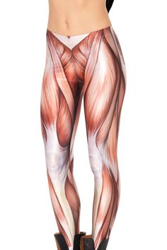 Muscles Leggings- I want to put these on my butt. 75$ from BlackMilkclothing.com