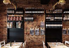 modern greek restaurant | Meet the greek restaurant design by end of workArt and design ...
