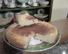 Torta delle 4 tazze con farina di cocco (senza uova e senza grassi!)