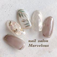 Japanese Nail Design, Japanese Nail Art, Stiletto Nail Art, Pedicure Nail Art, Manicure, Minimalist Nails, Nail Swag, Cute Nail Art, Cute Nails