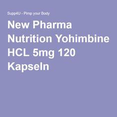 New Pharma Nutrition Yohimbine HCL 5mg 120 Kapseln