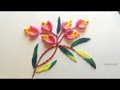 new brazilian embroidery patterns Brazilian Embroidery Stitches, Hand Embroidery Flowers, Hand Embroidery Stitches, Embroidery Designs, Embroidery Saree, Craft Work, Baby Sewing, Flower Designs, Amazing