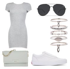 """Gucci chanel"" by faithsworld ❤ liked on Polyvore featuring Vans, Boohoo, Luv Aj and DKNY"