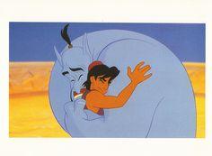 30 Day Disney Animated Feature Challenge Day 7: Favorite Friendship=Aladdin + Genie :)
