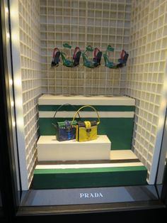 LK By Lincoln Keung: PRADA Window Display - London