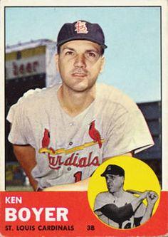 1960s Baseball - Player Profile - Ken Boyer