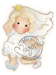 Magnolia Stamps RUNAWAY BRIDE TILDA - Special Moments