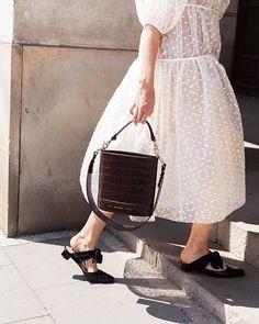 CHYLAK (@chylak.bags) • Фото и видео в Instagram Lace Skirt, Midi Skirt, Crocodile, Style Inspiration, Brown, Skirts, Instagram, Handbags, Jewelry