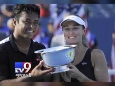 Leander Paes and Swiss Martina Hingis became the first team since 1969 to win three Grand Slam mixed doubles titles in the same season at the US Open.  Subscribe to Tv9 Gujarati https://www.youtube.com/tv9gujarati Like us on Facebook at https://www.facebook.com/tv9gujarati Follow us on Twitter at https://twitter.com/Tv9Gujarat Follow us on Dailymotion at http://www.dailymotion.com/GujaratTV9 Circle us on Google+ : https://plus.google.com/+tv9gujarat