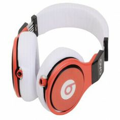 Beats By Dr Dre Pro Detox White/Red Limited Edition Headphones