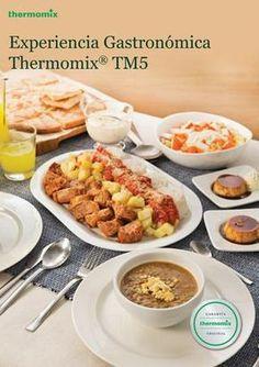 Recetas especiales para hacer con su Thermomix: Foie con jalea de moscatel, choux de queso, gulas, volcán de chocolate, pudding de espárragos verdes, cebollas confitadas, pastel de verduras, minestrone...