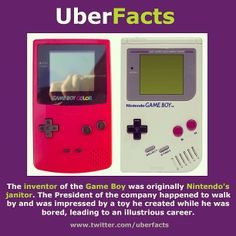 Inventing the Gameboy.