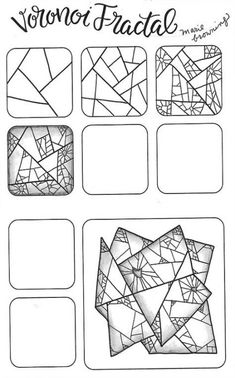 Line art design zentangle patterns 66 Ideas Art Doodle, Tangle Doodle, Tangle Art, Pattern Drawing, Pattern Art, Pattern Design, Zentangle Drawings, Zentangle Patterns, Zen Doodle Patterns