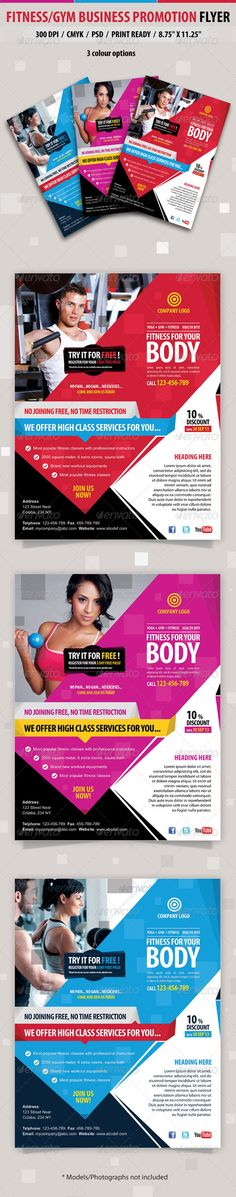 Fitness/Gym Business Promotion Flyer