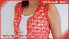 Crochet Vest Pattern, Crochet Patterns, Crochet Clothes, Crochet Top, Fashion, Red Waistcoat, Knit Vest, Tricot Crochet, Crochet Boots