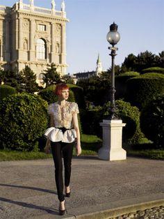 """The Last Waltz:"" Natalia Vodianova by Mario Testino for Vogue US, September 2006"