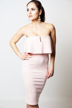 New in: Stylish Pink Fril... Check it out! http://www.fbargainsgalore.co.uk/products/stylish-pink-frill-overlay-womens-bandeau-dress?utm_campaign=social_autopilot&utm_source=pin&utm_medium=pin
