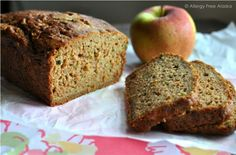 "Zucchini Apple Bread or Muffins #glutenfree #dairyfree #soyfree This has been hailed by my recipe testers as ""the best zucchini bread I've ever had!"""