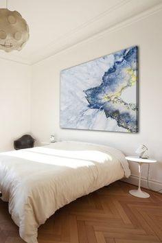Earth's Elements Art: Crystal Quartz on Canvas | Free Us Fashion Styles - freeusfashion.com
