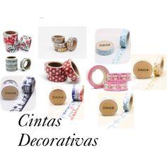 Cintas decorativas Washi Tape by obsequiosbodas on Polyvore featuring interior, interiors, interior design, hogar, home decor and interior decorating