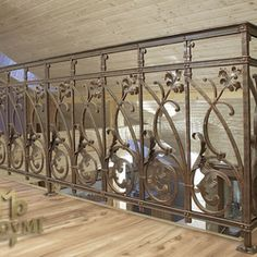 The replica of a historic railing - gallery Interior Railings, Interior And Exterior, Blacksmithing, Divider, Gallery, Room, Furniture, Home Decor, Blacksmith Shop